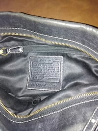 Black Gold Coach Bag With Bar Code!  Baltimore, 21223