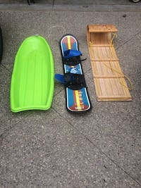 Sled and snowboard Ancaster, L9K 1T4