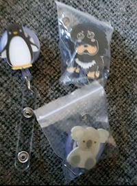 ID Holders with retractable cord