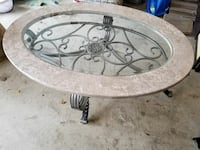 a real stone coffee table