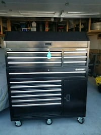 black and gray tool chest New Cumberland, 17070