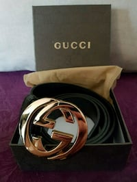 Gucci belt with box  Montreal, H4M 2X6