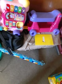 Pack n play and ride on toy