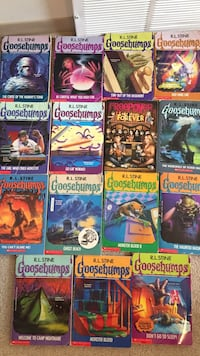 Lot of goosebump books Winnipeg, R2J 2L4
