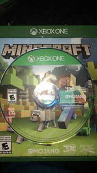 Minecraft Xbox One game disc St Catharines, L2S 3T1
