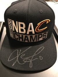 2016 kevin love autographed black nba cavaliers champs