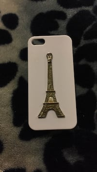 White and gray eiffel tower paris iphone case Calgary, T3J 1S1