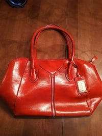 red leather tote bag Dartmouth, B3A 4Z4