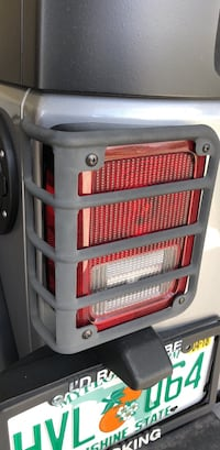 Jeep Wrangler tail light covers  with LED lights Odessa, 33556