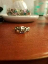 Sterling Silver Engagement Ring Size 7 Abingdon, 24361
