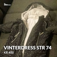 Vinterdress str 74 Ski, 1400