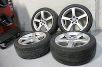 "17"" Volkswagen rims + continental ContiProContact 55% Chicago"