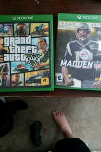 two Xbox One game cases Denver, 80219