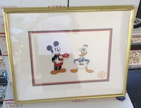 AUTHENTIC LIMITED EDITION DISNEY SERIGRAPH CEL MIC West Sacramento, 95691