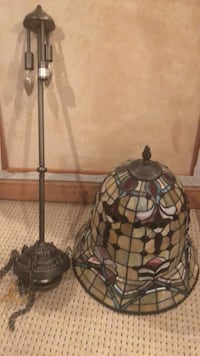black and gray pendant lamp Farmingville, 11738
