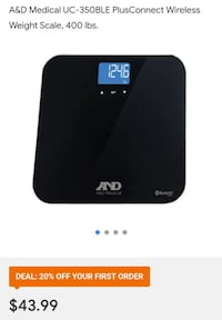 Wireless scale with app for smartphone Brooklyn, 11203