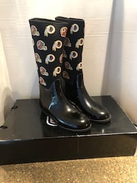 Washington Redskins Women's Rain Boots Size 10 Brand New With Box Manassas, 20112