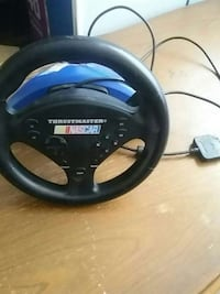 black Thrustmaster Nascar racing wheel ps2 Brampton, L6Z 2V5