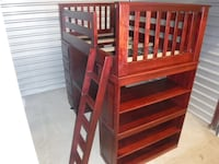 Hand-crafted Amish Maple Loft Bed Falls Church, 22042