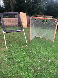Used Lax goal and rebounder(together only), no negotiations Silver Spring