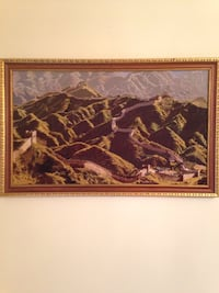 Framed Artwork of The Great Wall of China Fairfax Station, 22039