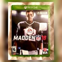 Madden NFL '18 Xbox One Game Morton Grove, 60053