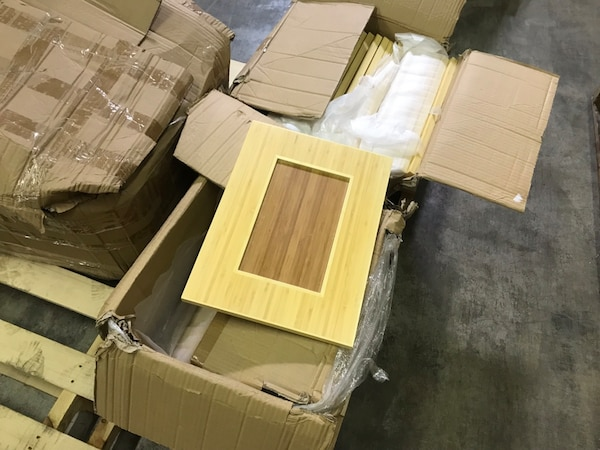 Used Solid Bamboo Cabinet Doors And Other Items For Sale In Elk