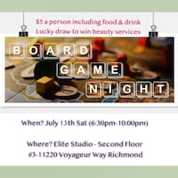 board game night event