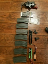 Airsoft stuff plus 2 classic army items Patchogue, 11772
