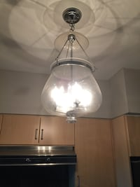 stainless steel framed pendant lamp Toronto, M8Y 0A1