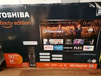 BNIB Toshiba 4k 50' ultra TV New Westminster, V3L 1G2