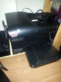 black HP multi-function printer EDMONTON