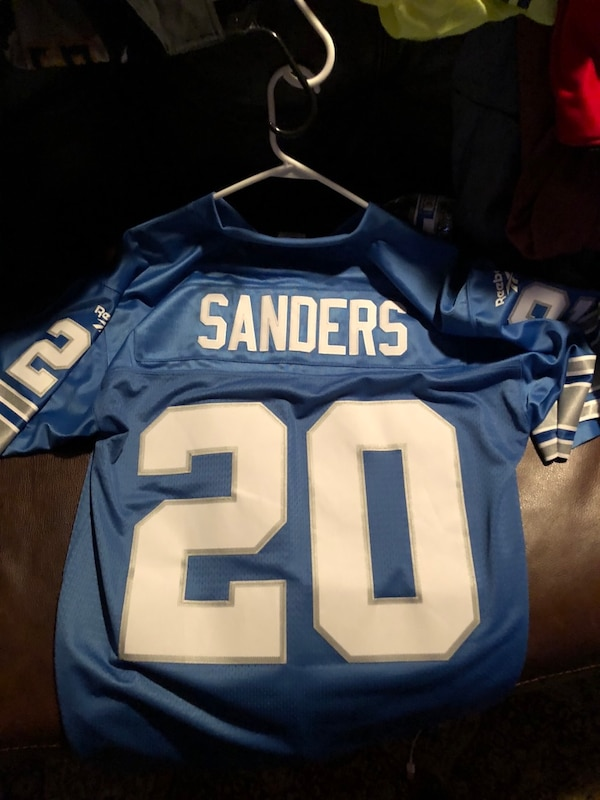 separation shoes db0d8 64627 Authentic Barry Sanders Jersey (Vintage Collection)