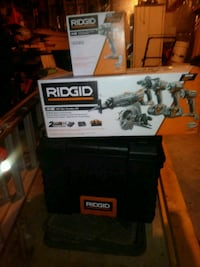 Ridgid tool set and tool box Allen Park, 48101