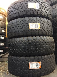 We sell a full set Of Used Tires LT285/70R17 Bfgoodrich KO2  Beaumont, 92223