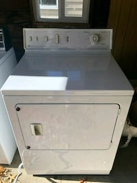 white front-load clothes dryer Youngstown