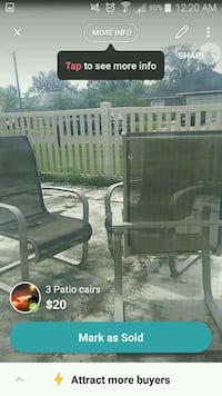Patio chairs Kissimmee, 34758