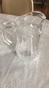 Crystle pitcher