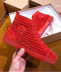 Red Spiked Christian Louboutin  Milwaukee, 53219