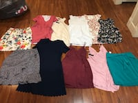 Women's size M Dresses and Skirt Lot