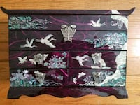 Purple Asian Jewelry Box West Springfield, 22152