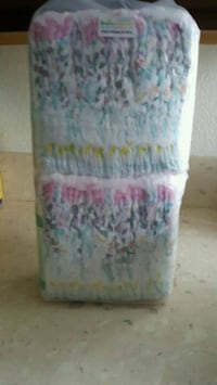 white, pink, and green floral textile Anaheim, 92807