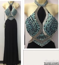 New with tags Size 4 Formal Gown $115
