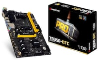 Biostar TB350-BTC AM4 B350 ATX motherboard Kitchener
