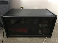 TV Stand with glass door Barrie