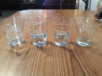 four clear shot glasses Westville, 46391