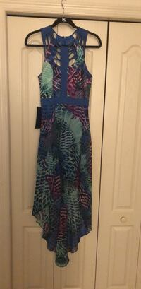 blue and green floral sleeveless dress Tampa, 33610
