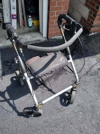 Evolution Foldable Walker  Good condition. Handles are taped up due to Toronto
