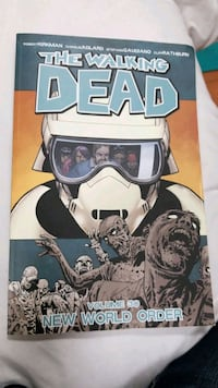 All 30 volumes of the walking dead comic books!
