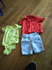 3 large bins full of baby boy clothes Hendersonville, 37075